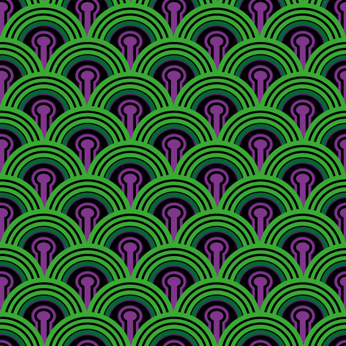 Shining ROOM 237 pattern