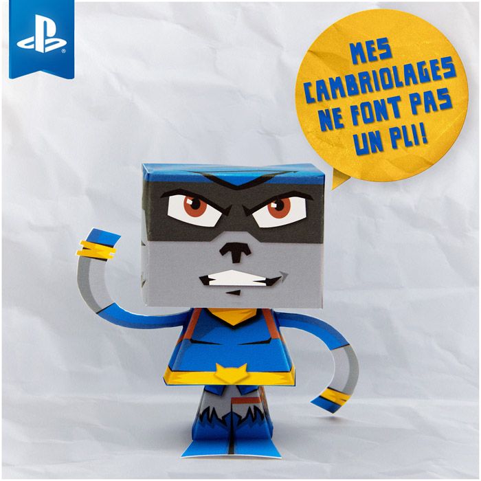 SLY COOPER paper toy