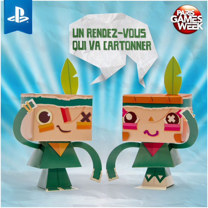 TEARAWAY paper toy