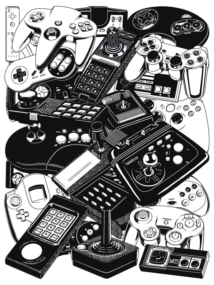 Retrogaming Joysticks & Controllers