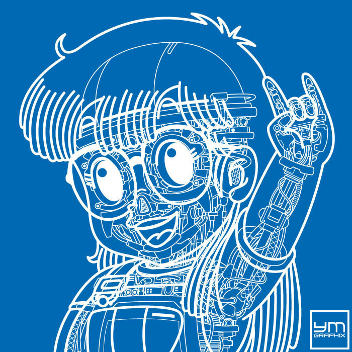 Arale Robot Blueprint